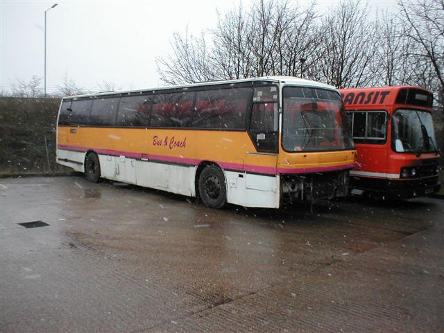 Image result for bus pictures in scrapyards